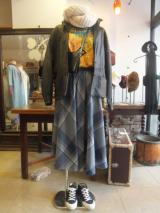 Girly Folklore ~フォークロアスタイル~ 02  ♪チェックのサーキュラースカートがポイント♪  http://www.fripe.jp/original16.html