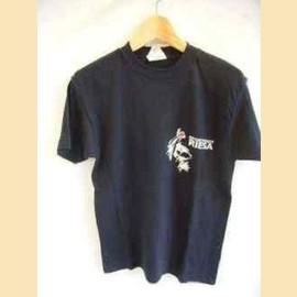 ヨーロッパ古着黒RIESATシャツ
