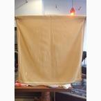 ヨーロッパ古着オレンジ×紺×黄緑×レトロ丸柄スカーフ