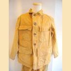 ヨーロッパ古着ブラウン×シンプルハンティングジャケット